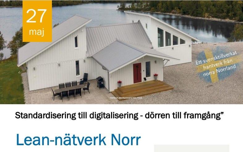 Uppstart av Lean-nätverk Norr