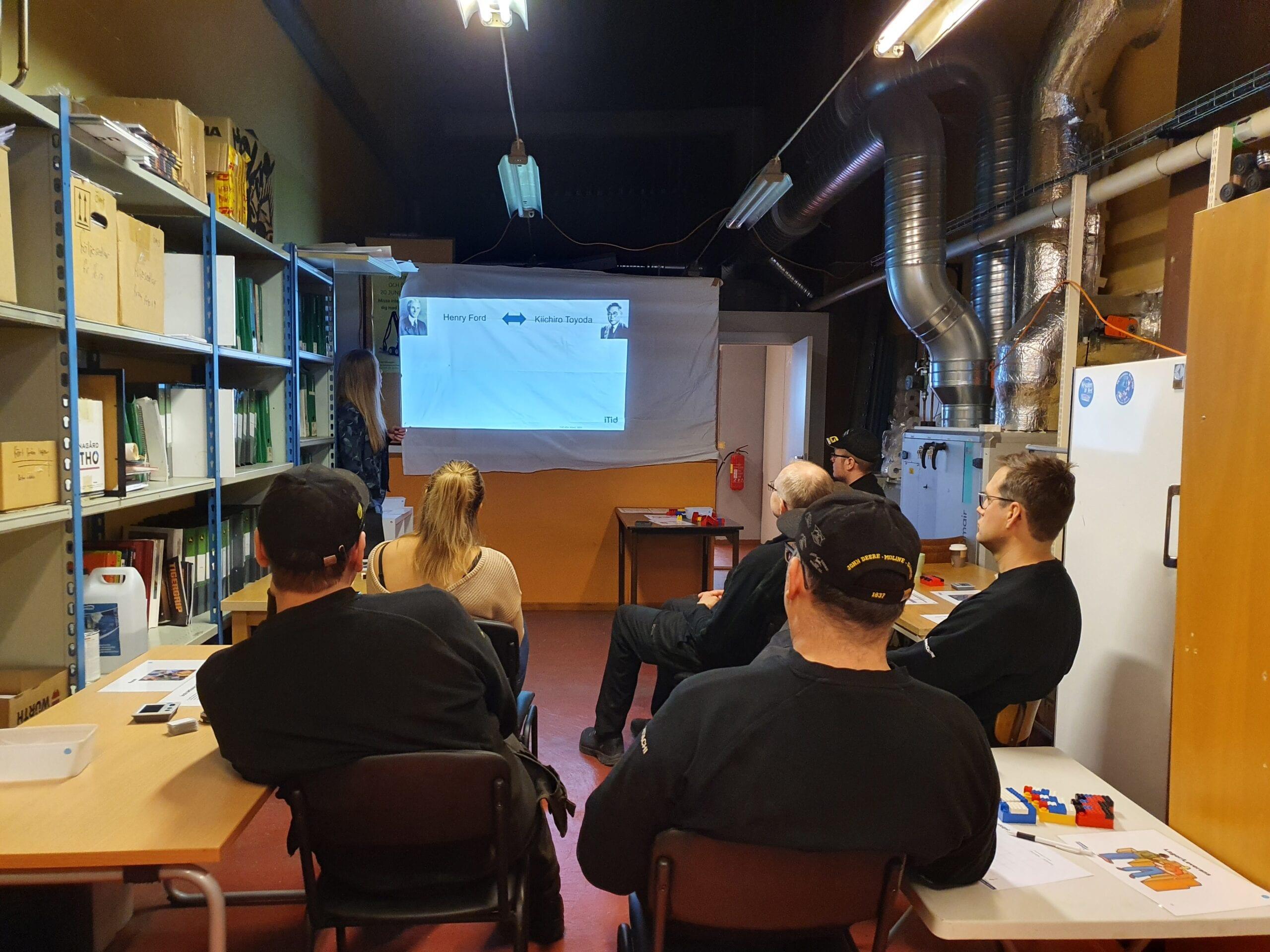 Överkalix Maskinstation tar stöd av iTid